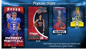 high school senior banners custom senior banners custom sports posters personalized team