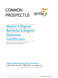ignou distance education higher education