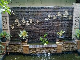 new ideas for home edition latest homemade waterfall with brick