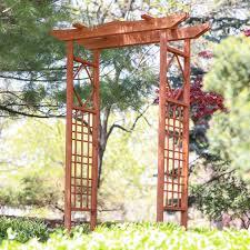 coral coast 6 5 ft pagoda wood arbor hayneedle