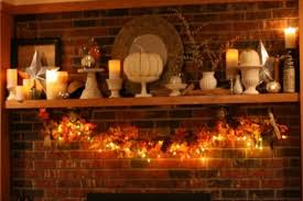 thanksgiving fireplace decorations rustic mantel decorating ideas