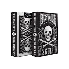 bicycle skull cards deck cartes magie