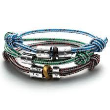 beaded rope bracelet images Personalised life bead rope bracelet chambers beau jpg