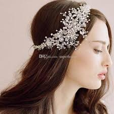 bridal hair clip bridal hair accessories korea shining wedding bridal headpiece