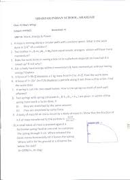 work and power problems worksheet worksheets
