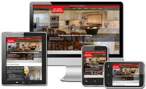 Kitchen Website Design Goweblive Affordable Web Design