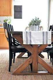 woodworking dining room table free woodworking plans for a farmhouse table dining room free