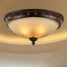 wrought iron flush mount lighting glass shade wrought iron flush mount ceiling light