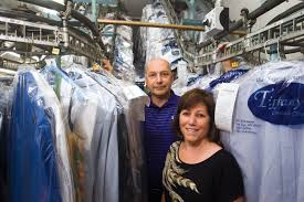 dry cleaner to the stars tiffany cleaners u0027 judy and dan del rossi