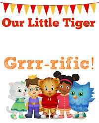 Welcome Home Banners Printable by Daniel Tiger Birthday Party 2 Free Printables Child At Heart Blog