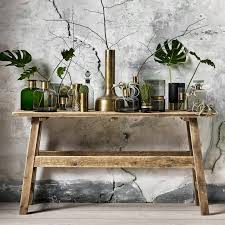 vintage style console table nordal console table raw