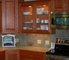 Microwave In Kitchen Cabinet Curved Glass Kitchen Cabinet Shelves Aside Wall Mounted Microwave