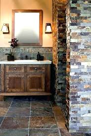 slate bathroom ideas slate tile bathroom ideas thebeautifulga me
