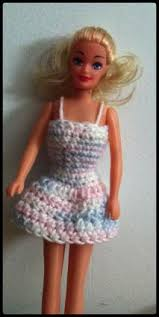 free crochet barbie clothing patterns lovetoknow