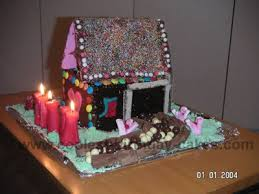 coolest homemade house cabin cakes