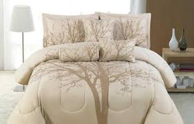 cream bedding benjamin 7 piece comforter set luxury ivory cream