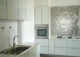 stainless steel tiles for kitchen backsplash inspiration from kitchens with stainless steel backsplashes