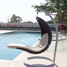 skyline design cristy hanging pod chair luxury hanging pod