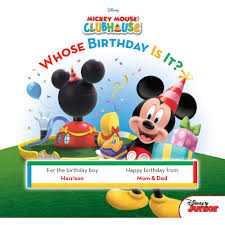 personalized book disney s mickey mouse whose birthday is it