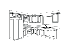 design kitchen cabinet layout ideas cabinets your own online