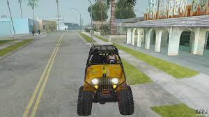 cj jeep yellow jeep cj 7 4x4 for gta san andreas