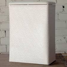 White Laundry Hampers by Lamont Home Carter Family Hamper Walmart Com
