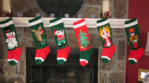 Homemade Christmas Stockings by Hand Knit Christmas Stocking