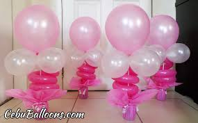 balloon table centerpieces centerpieces u0026 bracelet ideas