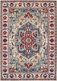 couristan vintage area rug in putty claret buy at veloxmart
