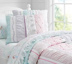Pottery Barn Comforters Bailey Ruffle Quilted Bedding Pottery Barn Kids Megan U0027s Room