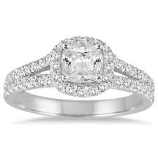 inspirational image of 2 carat cushion cut diamond ring ring ideas