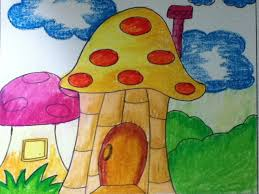 28 easy house drawing simple drawing of house mushroom house for kids in simple steps youtube