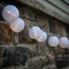 10 mini light string 10 ft 10 mini lanterns white outdoor string light 1 plug in strand