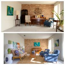 Staging Before And After Staging A 1970s House For Sale Simpletexan Com Professional