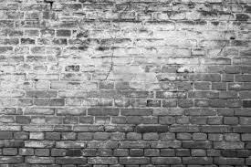Wall Wallpaper Black And White Brick Wall Background Art Pinterest