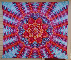large tie dye tapestry mandala tapestry mothers day gift