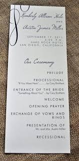 tea length wedding program printable tea length wedding program with calligraphy and rustic