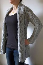 how does it take to knit a sweater free easy knit shrug sweater pattern pinteres
