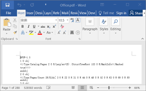 Count Word In Pdf Fix Cannot Ppen Pdf File In Word 2013 2016 Solution To Pdf