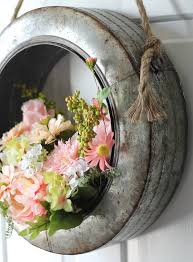 the craft patch galvanized metal wreath alternatives