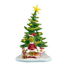 the grinch christmas tree department 56 grinch villages welcome christmas day