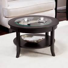 coffee table glamorous round wood glass rustic oval top with base