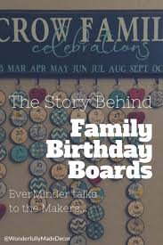 birthday boards meet the makers the story family birthday boards