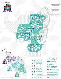 Walt Disney World Transportation Map by Disney U0027s All Star Movies