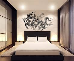 Asian Wall Decor Wave Asian Wall Decals Modern Asian Wall Decals Full Color