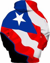Puertorican Flag Rico Custom Flag Hoodie