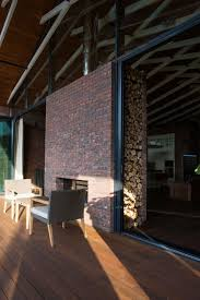 exposed structural elements give symmetry to russian home u2013 home info