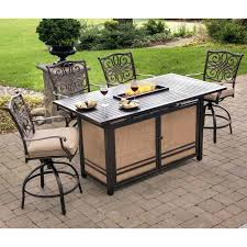 High Top Patio Dining Set High Top Patio Furniture Geekprint