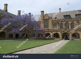 Gothic Revival Homes by Gothic Revival Architecture Sydney University Australia Stock