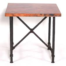 wrought iron end tables burlington end table with 24 in top